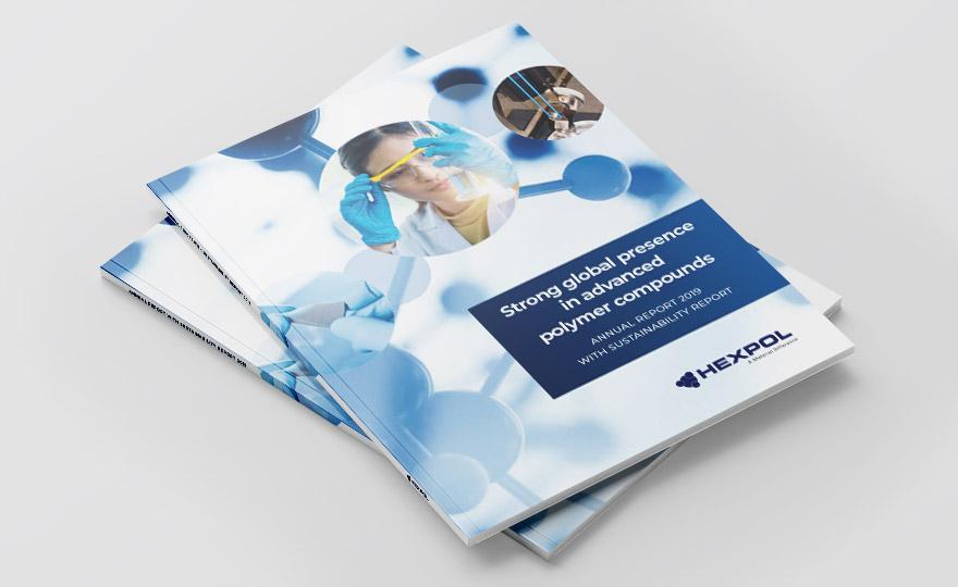Cover of HEXPOL Annual Report 2019