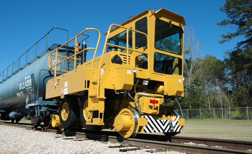 Titan on rails